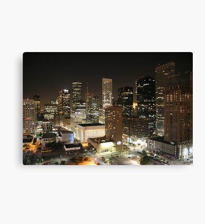 Houston Downtown Canvas Print
