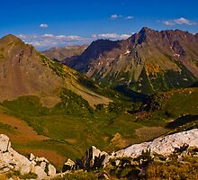 down the ridge of the Bells by Roschetzky