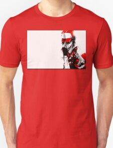 anime - pokemon - trainer red T-Shirt