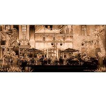 Ol' Cafe' Photographic Print