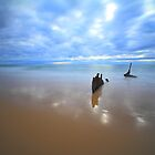 SS Dicky Shipwreck - Dicky Beach, Qld by BBCsImagery