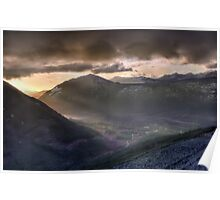 Sunrise Valley Poster