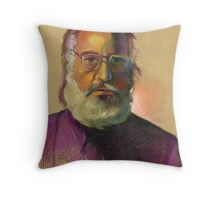 Serious Throw Pillow