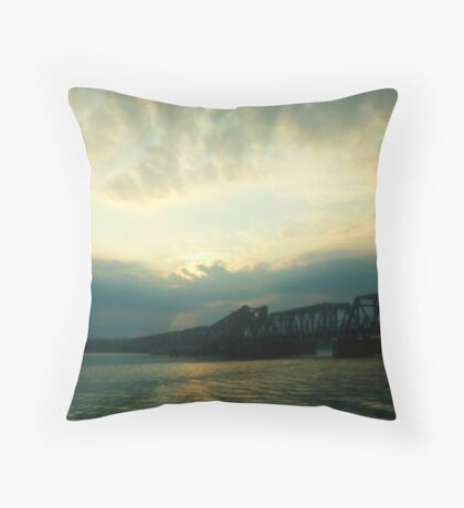 Shining Light - Old Lyme, Connecticut Throw Pillow