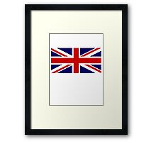 Union Jack, British Flag, UK, United Kingdom, Pure & simple 1:2 Framed Print