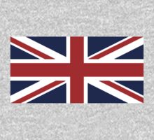 Union Jack, British Flag, UK, United Kingdom, Pure & simple 1:2 Kids Clothes