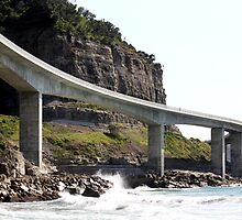 Sea Cliff Bridge, Coledale, NSW 2 by Patricia  Knowles