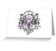 Love, peace and IMOK Greeting Card