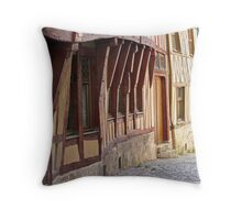 Middle Age Throw Pillow