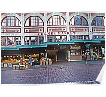 Seattle's Pike Place Market Poster