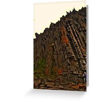 Rock Wall Greeting Card