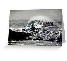 The Waves are Coming... Greeting Card