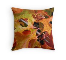 Autumn Diamonds Throw Pillow