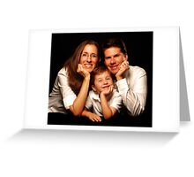 Happy families Greeting Card