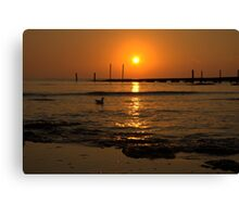 Sunrise at Point Leo Canvas Print