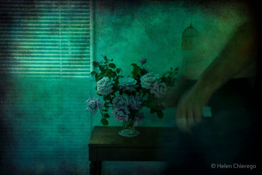 The Last of the Summer Roses by © Helen Chierego