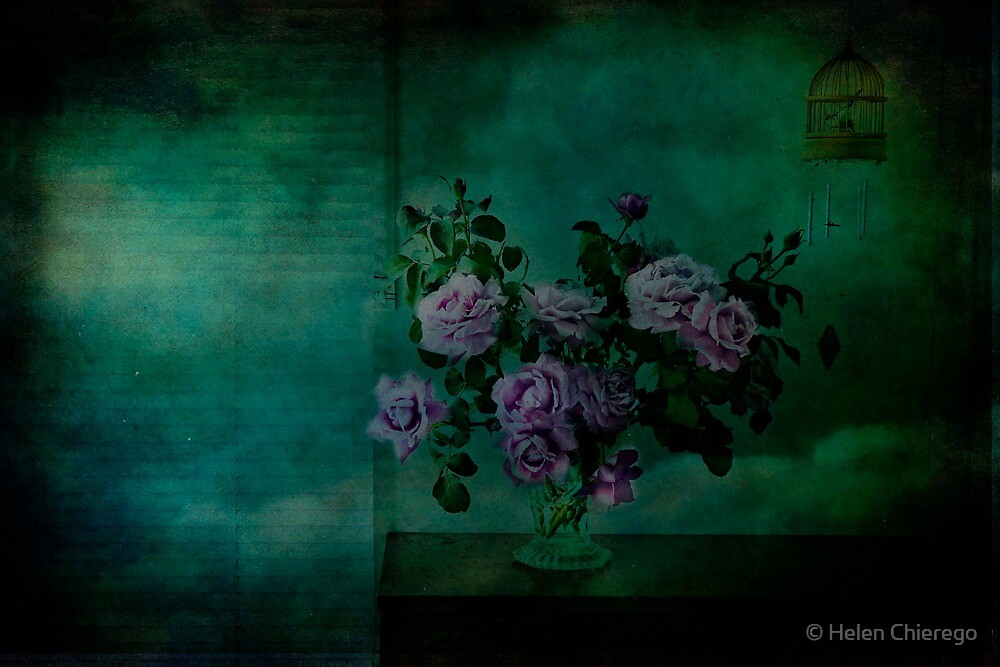 A Rose is a Rose is a Charles de Gaulle Rose by © Helen Chierego