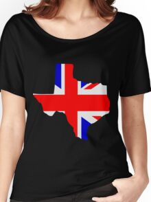 British Texas Women's Relaxed Fit T-Shirt