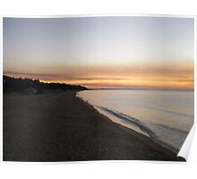 Autumn Evening Shores Poster