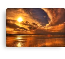 Golden touch of Nature Canvas Print