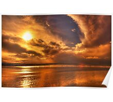 Golden touch of Nature Poster