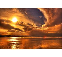 Golden touch of Nature Photographic Print