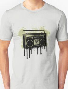 Portable Stereo Splatter T-Shirt