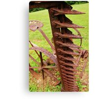 Rusted Sickle Canvas Print