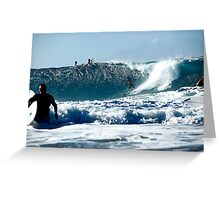 The Waves are Coming - still... Greeting Card