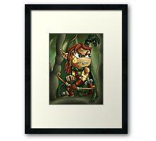 Chibi Ranger Framed Print