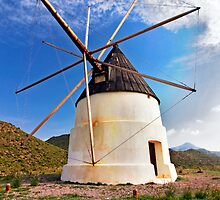 molino de Cabo de Gata by ser-y-star