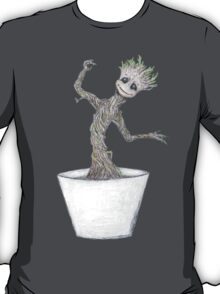 Dancing Baby Groot - Guardians of the Galaxy T-Shirt