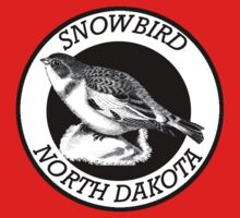 North Dakota Snowbird One Piece - Short Sleeve