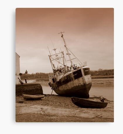 Kirkcudbright Harbour Canvas Print