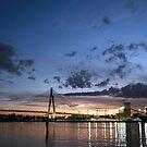 Jones Bay Wharf - Sydney, Australia by Alfredo Estrella