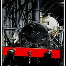 Tank Engine with Red Board by lesquirt