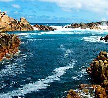 Canal Rocks, Yallingup, Western Australia by Julia Harwood