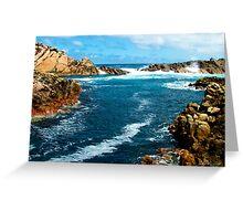 Canal Rocks, Yallingup, Western Australia Greeting Card
