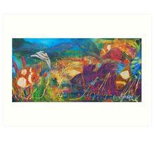 """Hide and Seek """"reef fish playing"""" Art Print"""