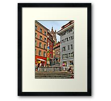 Picturesque square Framed Print