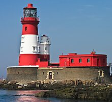 Longstone Lighthouse - Farne Islands, Northumberland by David Lewins