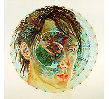 Self Portrait at Six Scales of Magnification Photographic Print