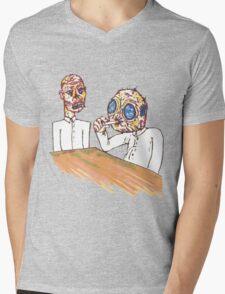 mutants smoking casual Mens V-Neck T-Shirt