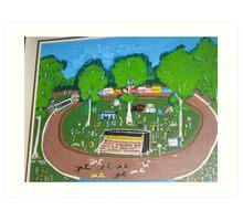 Country Races  Art Print