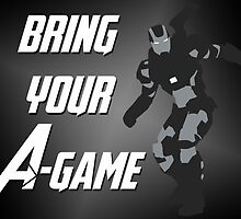 War Machine - Bring Your A-Game by alannamode
