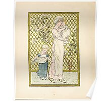 A Day in a Child's Life Myles Birket Foster and Kate Greenaway 1881 0012 In the Garden Poster