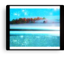 frosty...pure Canvas Print