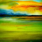 Landscape Abstract...Adagio by  Janis Zroback