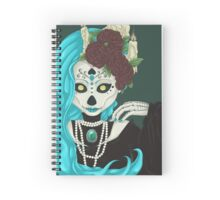 Blue hair Spiral Notebook