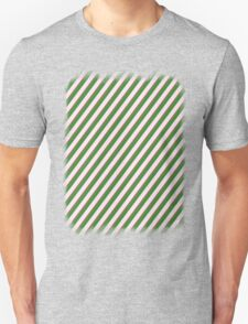 Pink Roses in Anzures 2 Stripes 2D Unisex T-Shirt